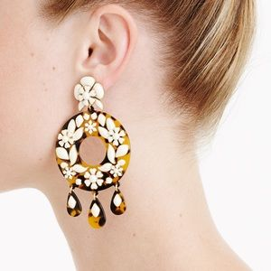 J. Crew Jewelry - J.Crew tortoise enamel earrings